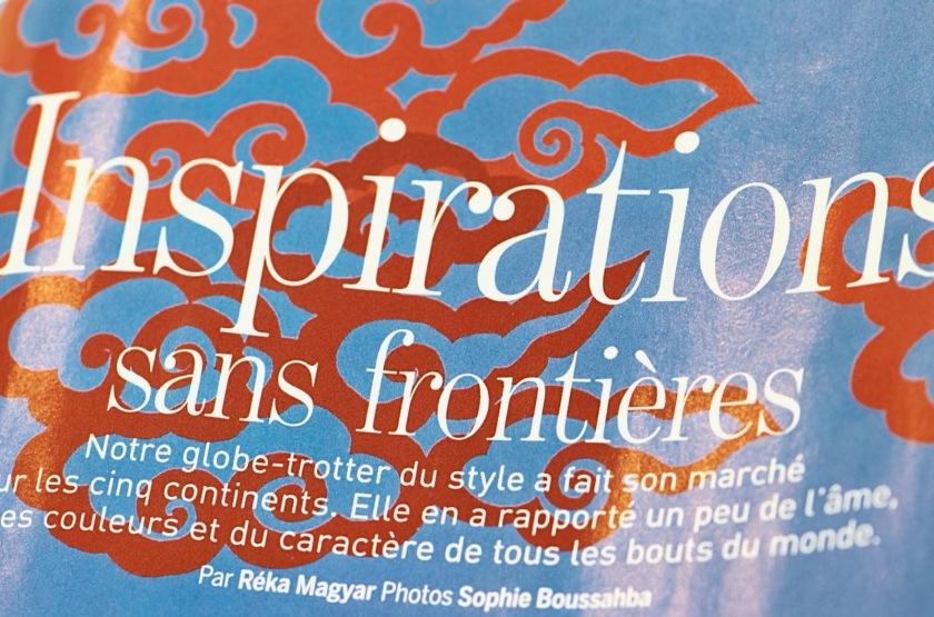 Marie Claire parution