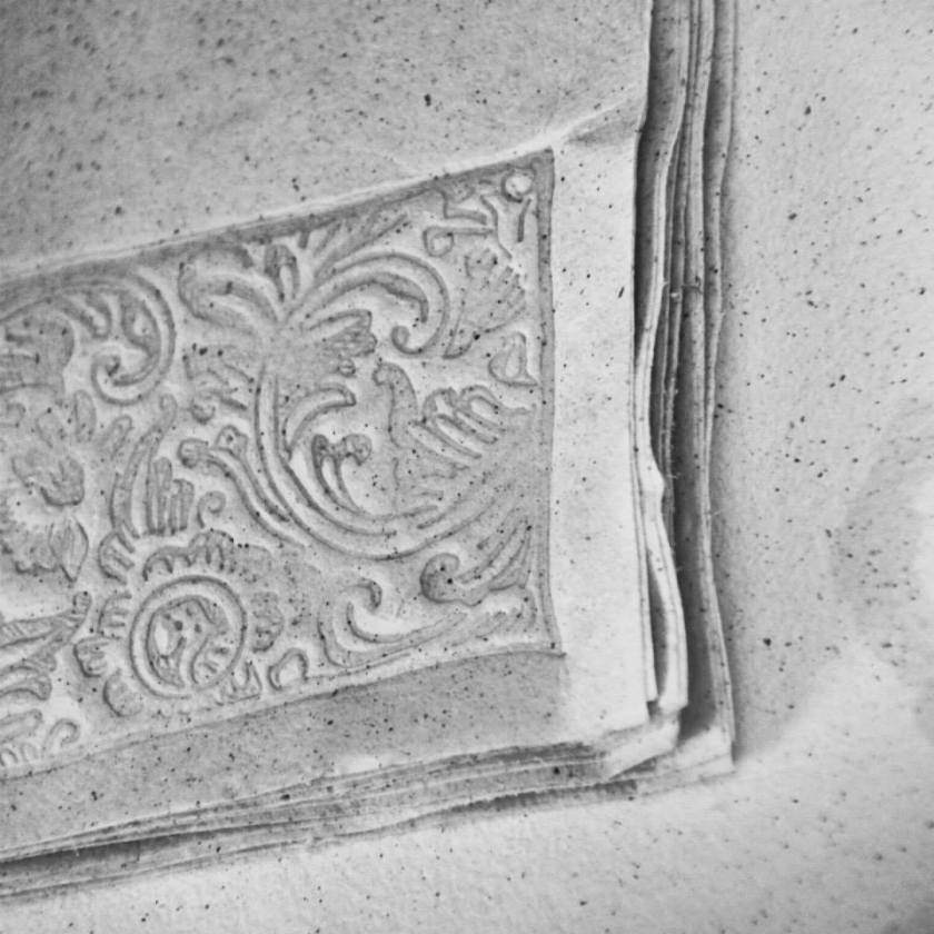 motif papier Bali