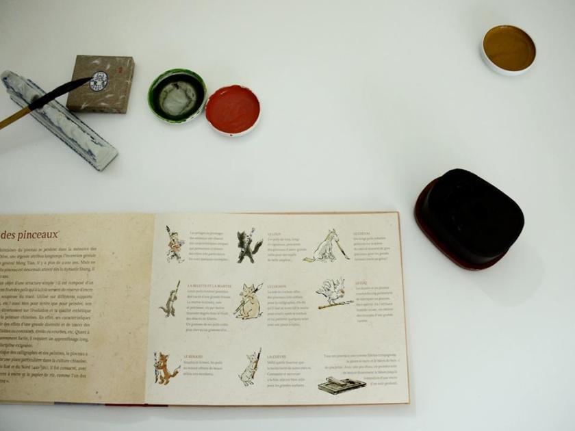 Calligraphy livre Japonais