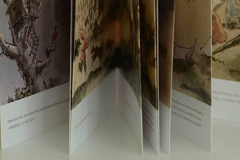 livre Japonais plier