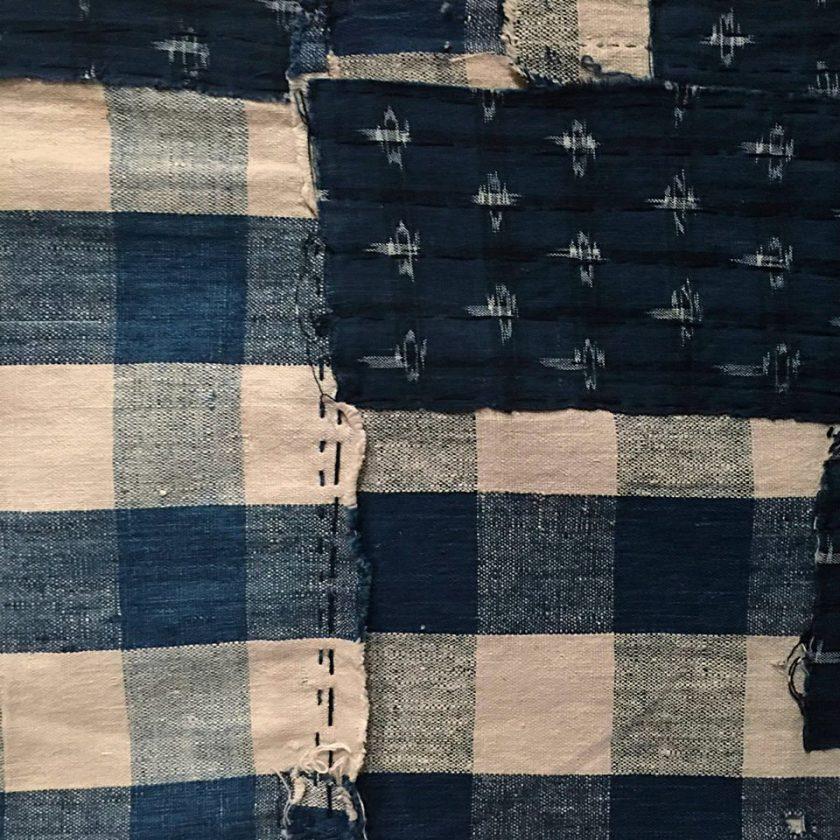 Textile rapiécé appelé %22boro%22