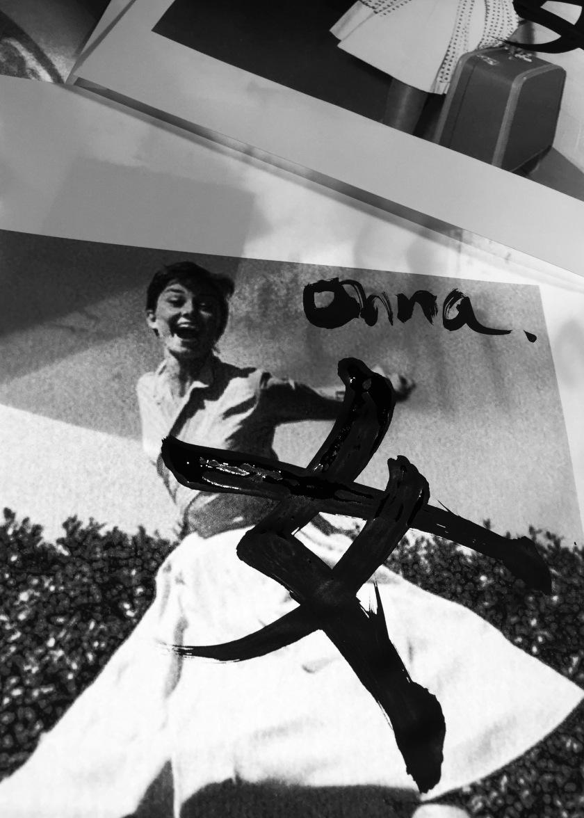 Audrey Hepburn, actrice britannique très engagée dans les missions humanitaires. (1962)